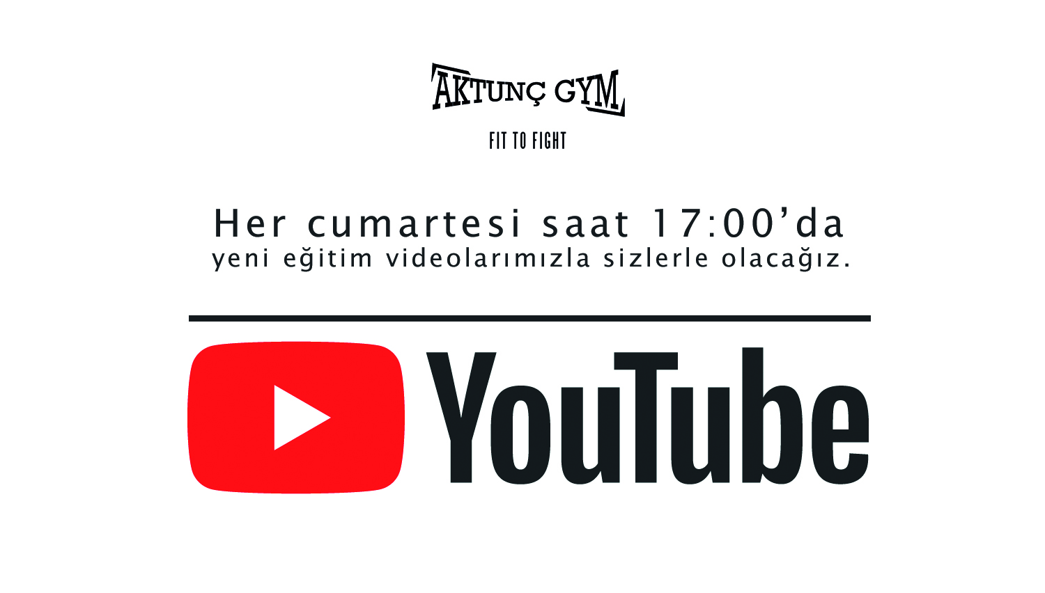 Aktunç Gym Fight Academy YouTube'da